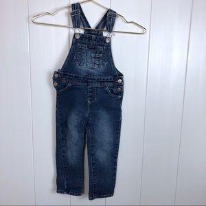 2T Jordache Bibbed Overalls Skinny Jeans